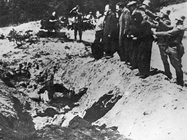 Фото расстрела детей в бабьем яру